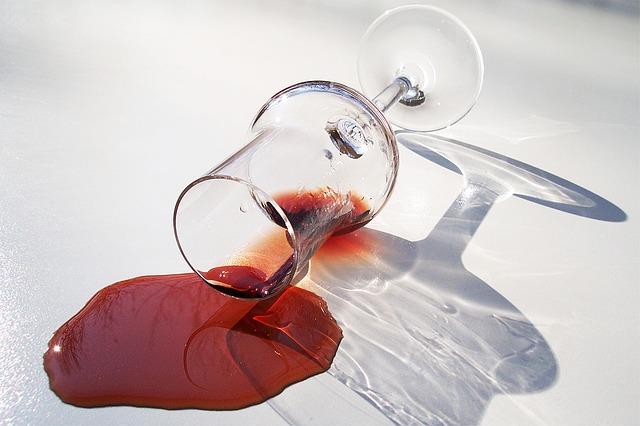 vylité vín